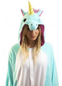 Кигуруми «Голубой единорог» пижама