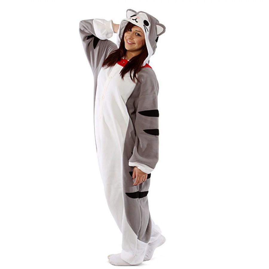 Кигуруми «Полосатый кот» пижама d9e8457abd9fb