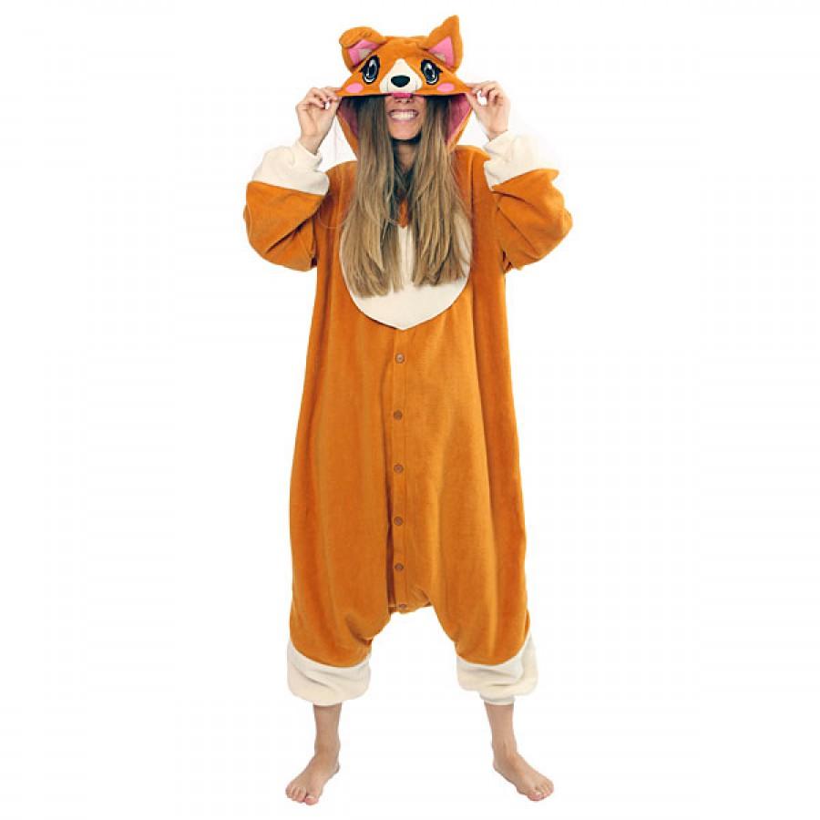 Кигуруми «Лиса» пижама 25a8a20915c94