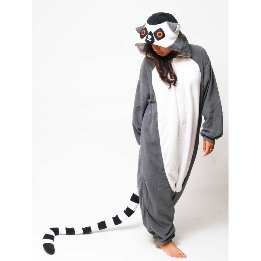 Кигуруми «Лемур» пижама 02d451efb9a10