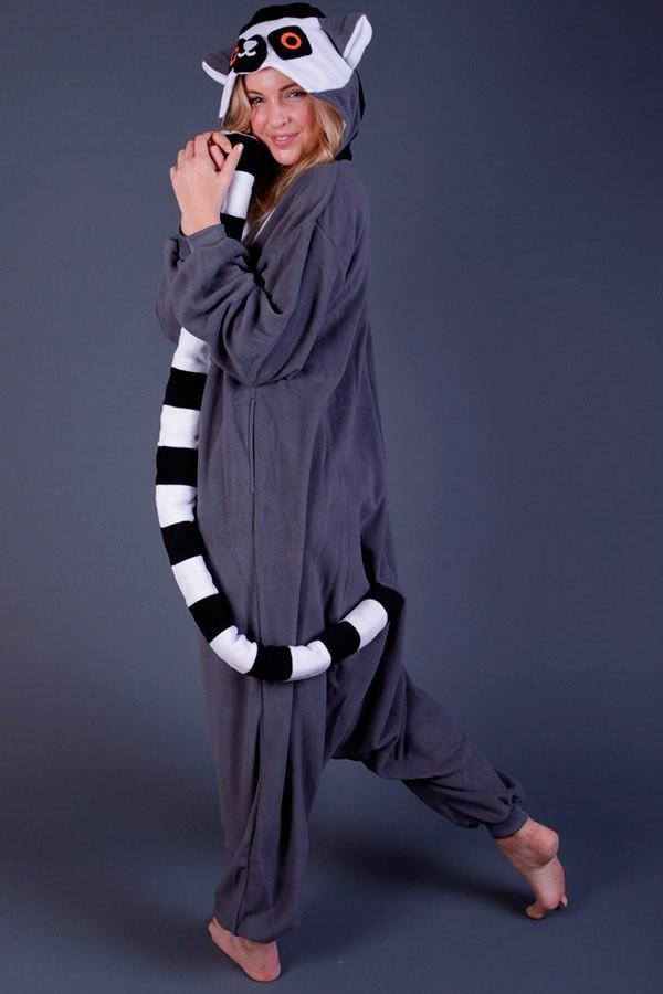 Кигуруми «Лемур» пижама 0beb94b49ed5e