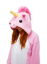 Кигуруми «Розовый единорог» пижама
