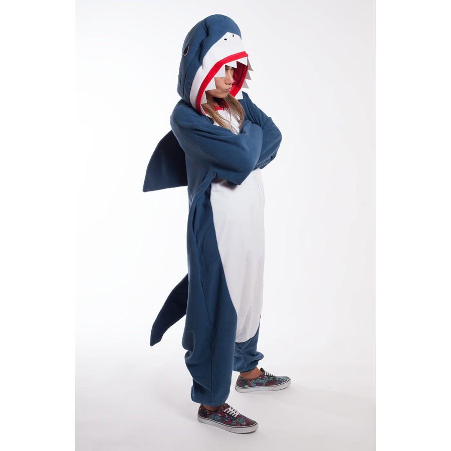 Кигуруми «Акула» пижама 6b647027d0e90