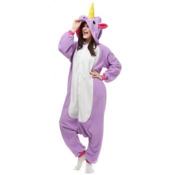 Кигуруми «Фиолетовый единорог» пижама
