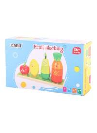 Деревянная игрушка Геометрика MD 1201 (20шт) овощи