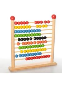 Деревянная игрушка Счеты MD 1103 (20шт) в кульке